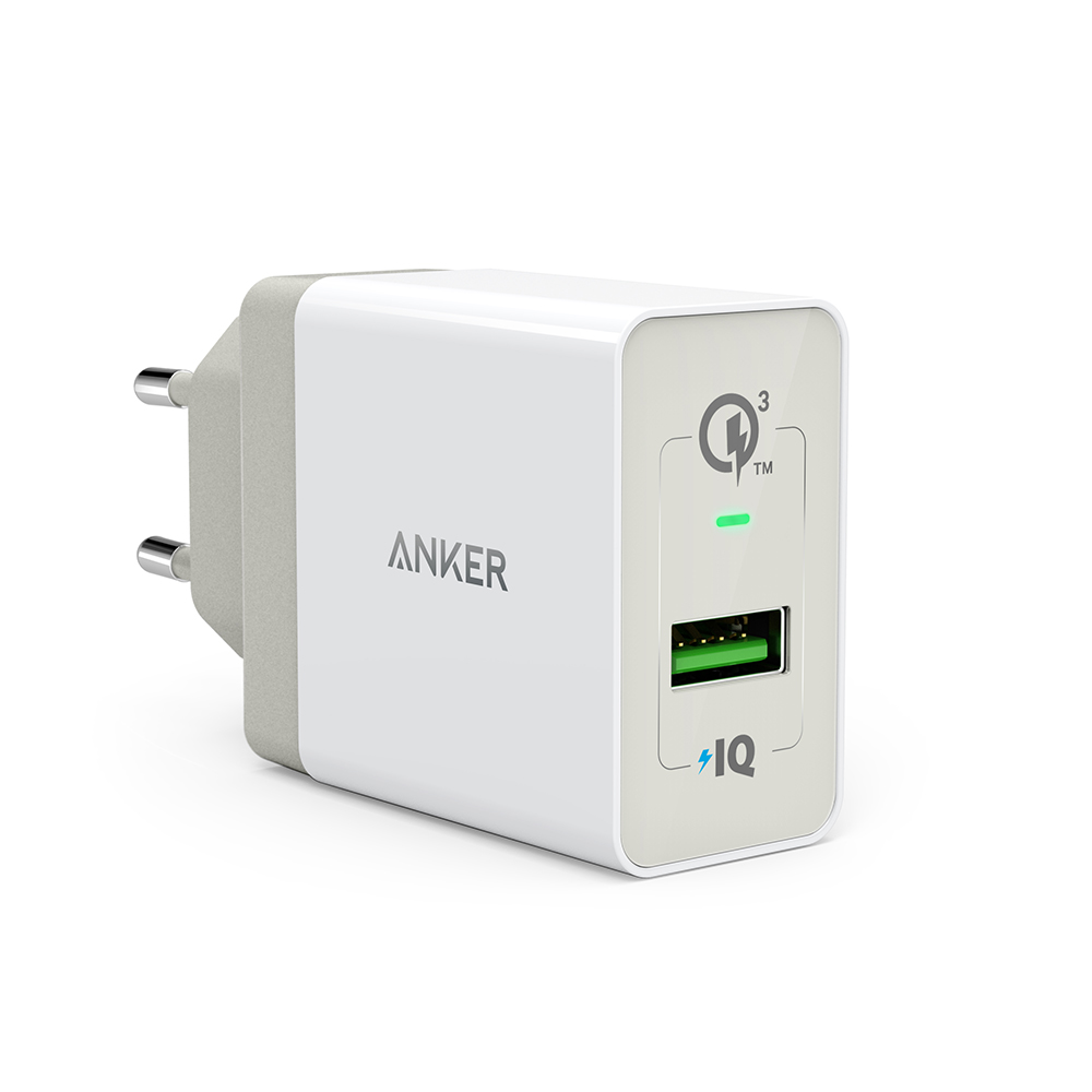 Anker PowerPort+ 1 with Quick Charge 3.0 White