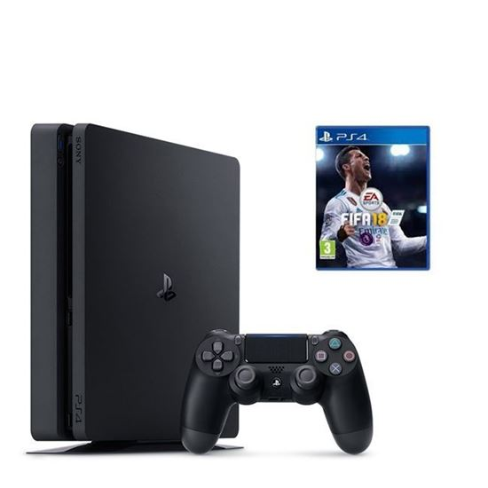 Sony PlayStation PS4 500GB Slim Bundle Fifa18
